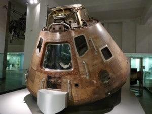 Apollo 10 Command Module - Science Museum - London