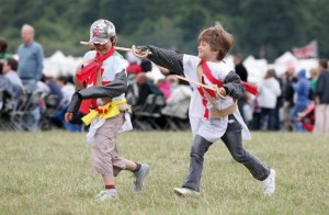 English Heritage Father's Day at Bolsover Castle, Derbyshire