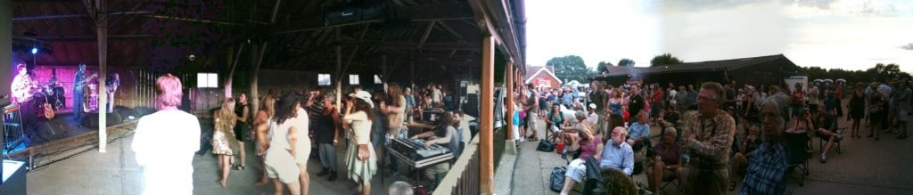 Maverick music festival at Easton Farm Park in Suffolk