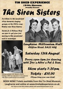 Siren Sisters Tin Shed Experience, 1940s museum in Laugharne, west Wales