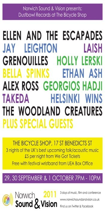 Dustbowl Records at The Bicycle Shop, Norwich