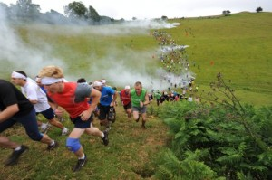 Kamikaze Adventure Run. The Banzai Charge, Dorset