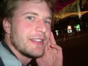 Chris Morton, author of English Slacker
