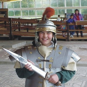 Roman Week at Fishbourne Palace, West Sussex
