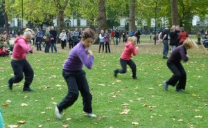 Dance Around the Place, Russell Square at Bloomsbury Festival