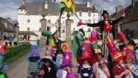 Eastereggstravaganza at Traquair House, Scottish Borders