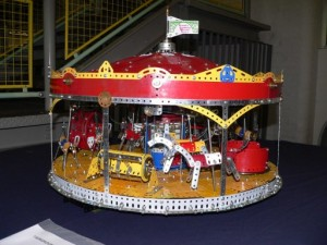Meccanuity 2012 exhibition, Meccano Models at Enginuity, Ironbridge: 5th - 7th May