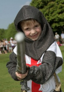 St George's Day events, photo courtesy of English Heritage