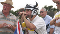 World Pea Shooting Championships at Witcham (photo Richard Marsden)