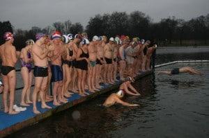 Peter Pan Christmas Day Race (Photo: Serpentine Swimming Club)