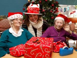 Friends of the Elderly, Christmas Maker volunteers (Photo: Gary Stone)