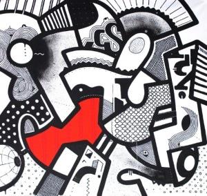 Lyes & Jones exhibition - Go Hard or Go Home - Mambo - Badadada
