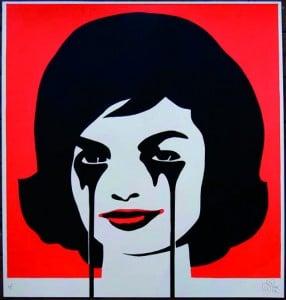 Lyes & Jones exhibition - Go Hard or Go Home - Pure Evil - JFK's Nightmare
