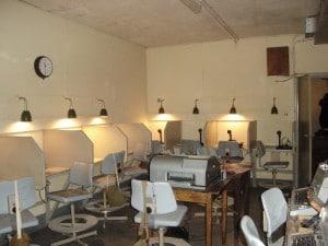 Gravesend Cold War Bunker - Communications Room