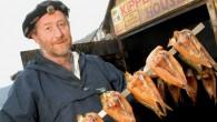 Clovelly Herring Festival - Mike Smylie, aka 'Kipperman'