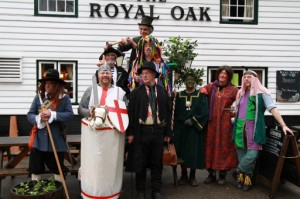 Sussex Mummer's Play 2013 - Ashdown Mummer's