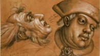 Holbein - Workshop of Studies of Four Male Heads - UCL Art Museum