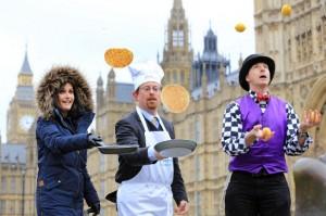 Rehab Parliamentary Pancake Race 2014