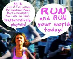 Time-Based Media in Conversation: How To Stop Worrying And Love (Running)
