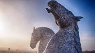 John Muir Festival - Kelpies sculptures