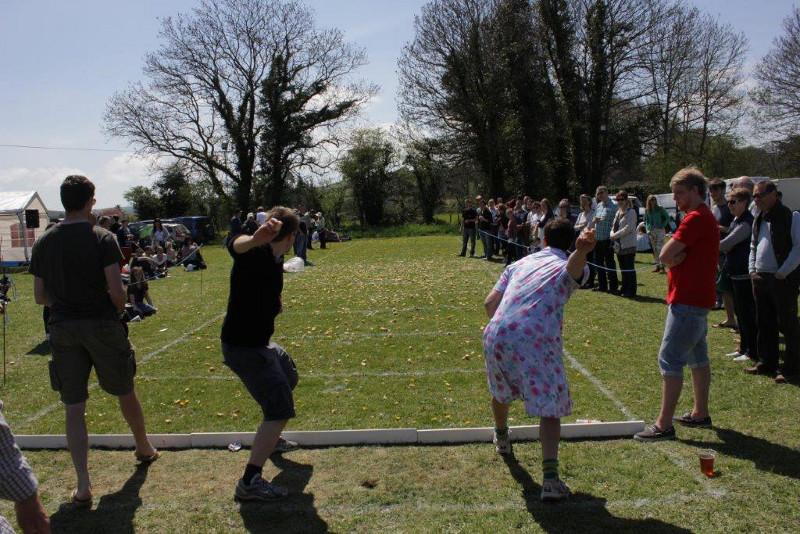 Dorset Knob Throwing 2014 (Photo: Rupert Cake)