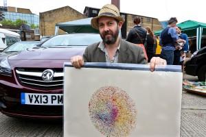 Vauxhall Art Car Boot Fair 2014 - Nick Reynolds