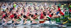 London Dragon Boat Festival 2014