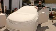Gavin Turk - Vauxhall Art Car Boot Fair 2014
