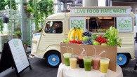 Love Food Hate Waste - 'Liquid Greens Machine' Breakfast Truck