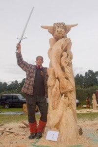 Carve Carrbridge - Scottish Open Chainsaw Competition