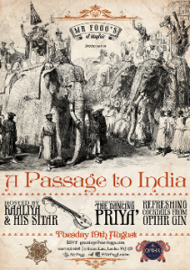 Mr Fogg's - Passage to India