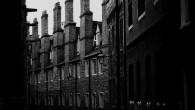 Cambridge alleyway - Halloween walk