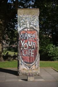 Berlin Wall section at IWM London