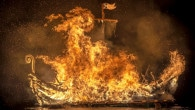 Delting Up Helly Aa - Galley Burning