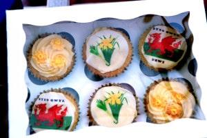 Cakes - St David's Day, Saundersfoot