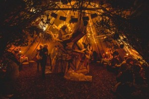 Burns Night - Queen of Hoxton - Winter WigWam