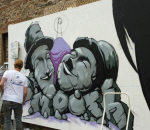 Another Fine Fest - Graffiti artists