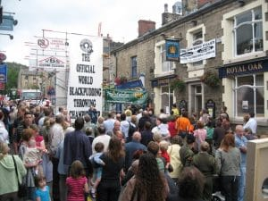 Royal Oak Ramsbottom - Black Pudding Throwing Championships