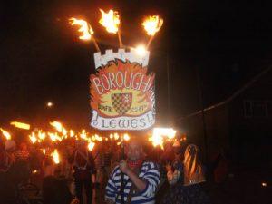 Lewes Bonfire - East Sussex - Lewes Borough Bonfire Society