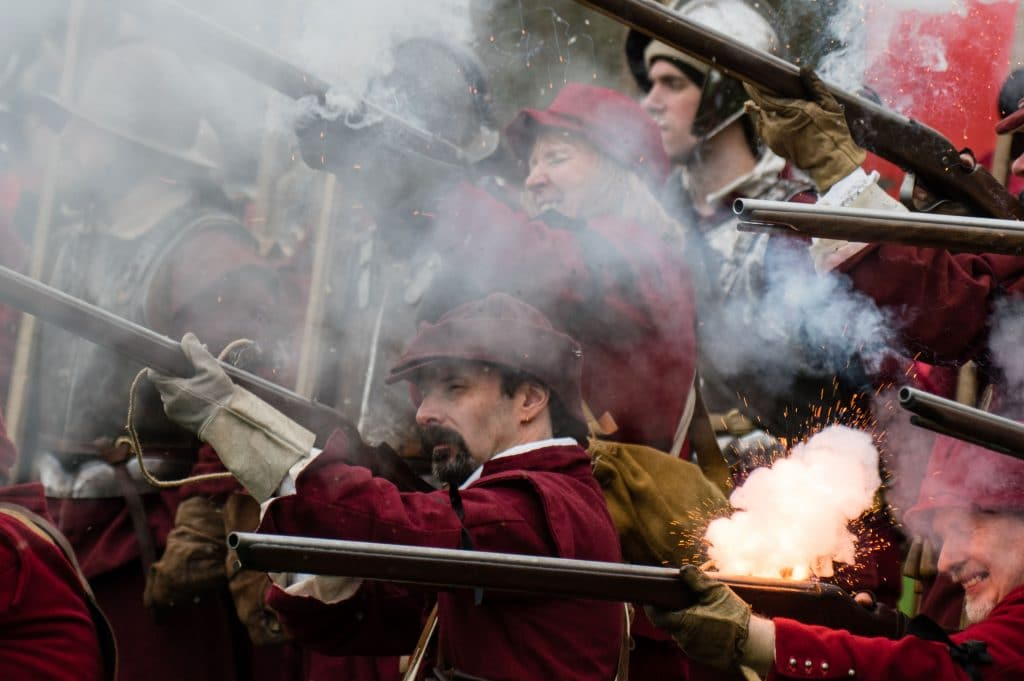 Battle of Nantwich - Holly Holy Day - Sealed Knot