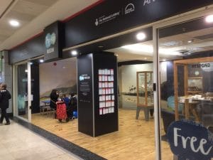 Traveller's Tails pop up museum - Lewisham Shopping Centre - ©National Maritime Museum, London