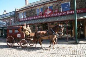Beamish Museum Horses at Work