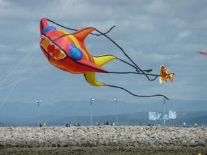 Catch the Wind Kite Festival 2017 - Morecambe - Contrary Life