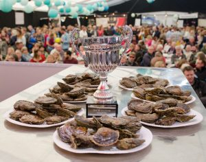 Falmouth Oyster Festival 2017 - Oyster Shucking Competition