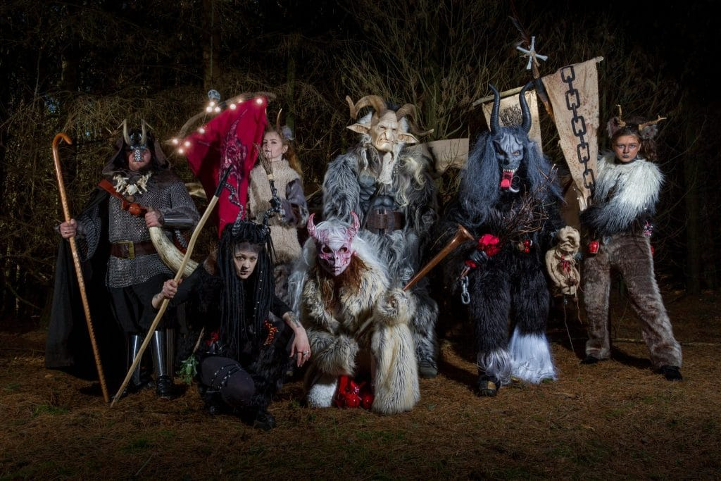 Whitby Krampus Run III - Yorkshire - Christmas 2017 - Si Blackwood