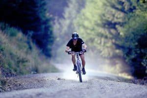 Mountain biking - Llanwrtyd Wells - Wales