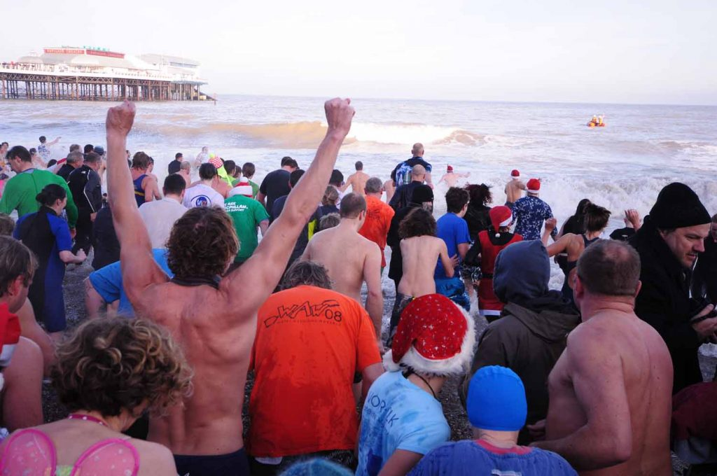 Cromer Boxing Day Dip (Photo: Anglian Images)