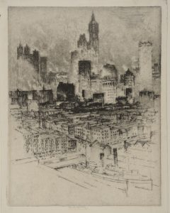 Whistler and Pennell: Etching the City - Lady Lever Art Gallery events 2018