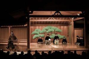 Noh theatre Japan