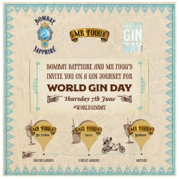 World Gin Day 2018 events London - Mr Fogg's